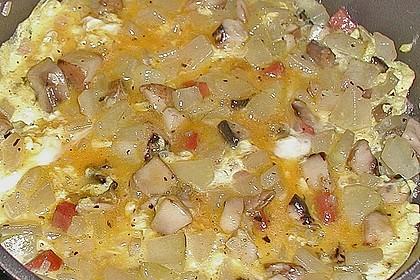 Zucchini - Champignon - Tortilla 0