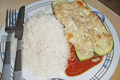 Überbackene Zucchini mit Schafskäse 30