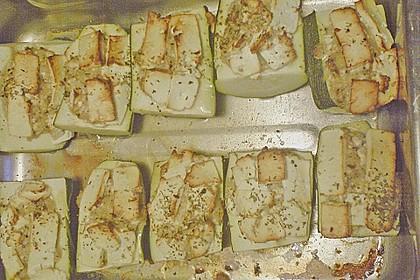 Überbackene Zucchini mit Schafskäse 47
