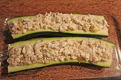 Überbackene Zucchini mit Schafskäse 38