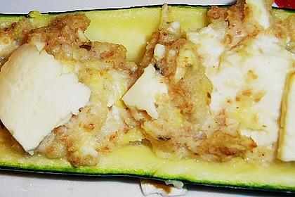 Überbackene Zucchini mit Schafskäse 51