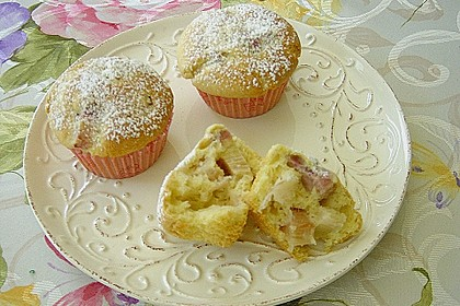 Rhabarber - Muffins 11