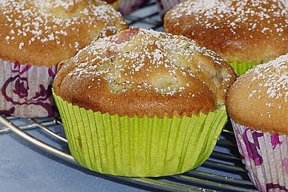 Rhabarber - Muffins 25
