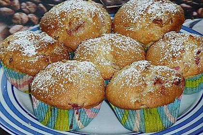 Rhabarber - Muffins 29