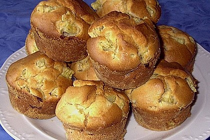 Rhabarber - Muffins 12