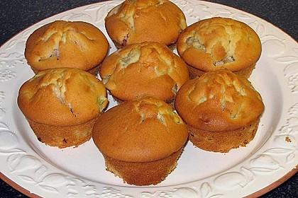 Rhabarber - Muffins 7