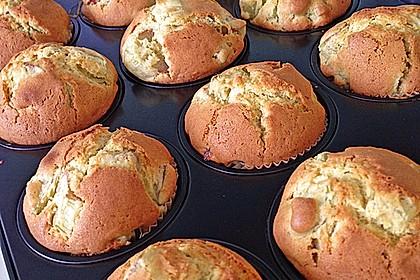 Rhabarber - Muffins 15