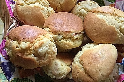 Rhabarber - Muffins 1