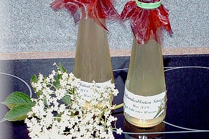 Holunderblüten - Sirup 11