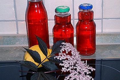 Holunderblüten - Sirup 9