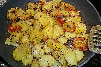 Rumpsteak Strindberg mit Bratkartoffeln 5