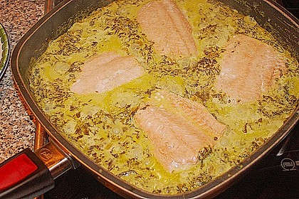 Lachs - Spinat - Nudeln 15