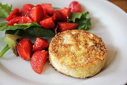 Gebackener Camembert mit Erdbeer - Chutney 1