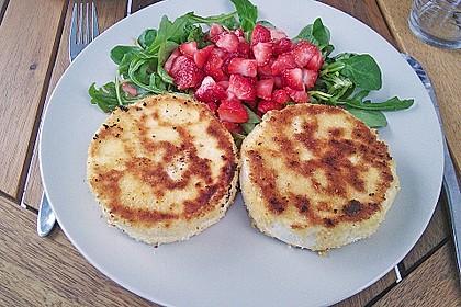 Gebackener Camembert mit Erdbeer - Chutney 2