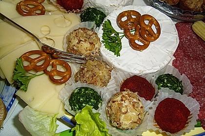 Fünferlei Käse - Pralinen 4