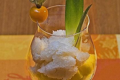 Caipirinha Sorbet mit Ananas 1
