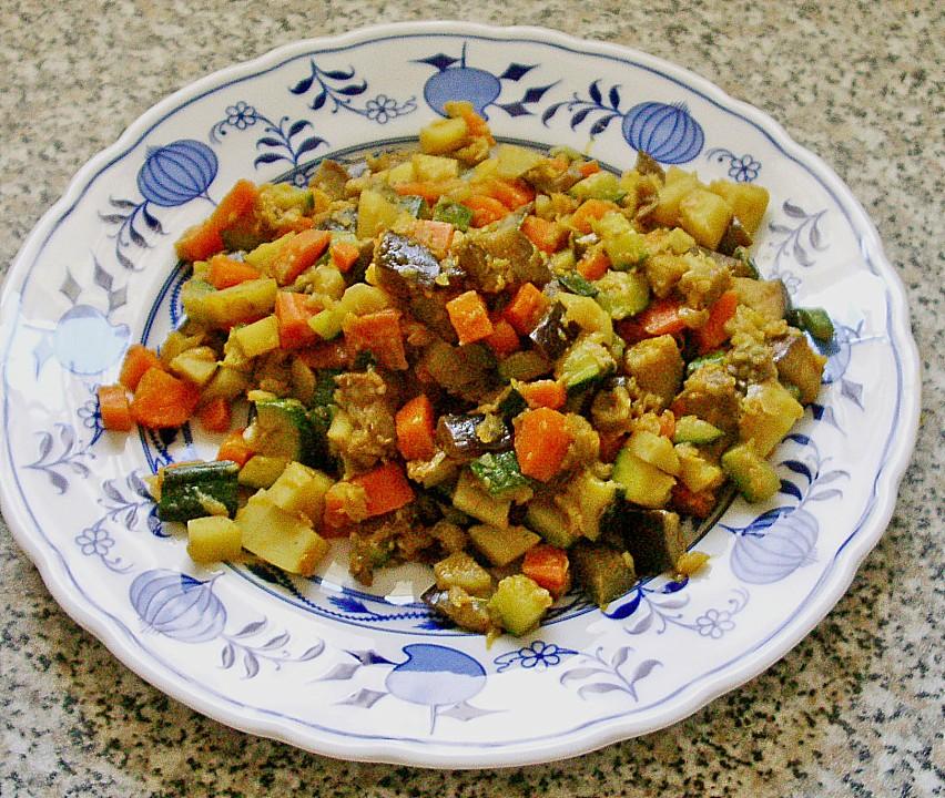 Curry Pfanne