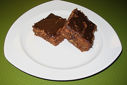 Schoko -  Walnuss - Brownies