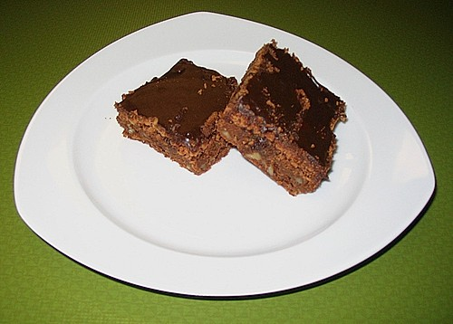 Schoko -  Walnuss - Brownies 0