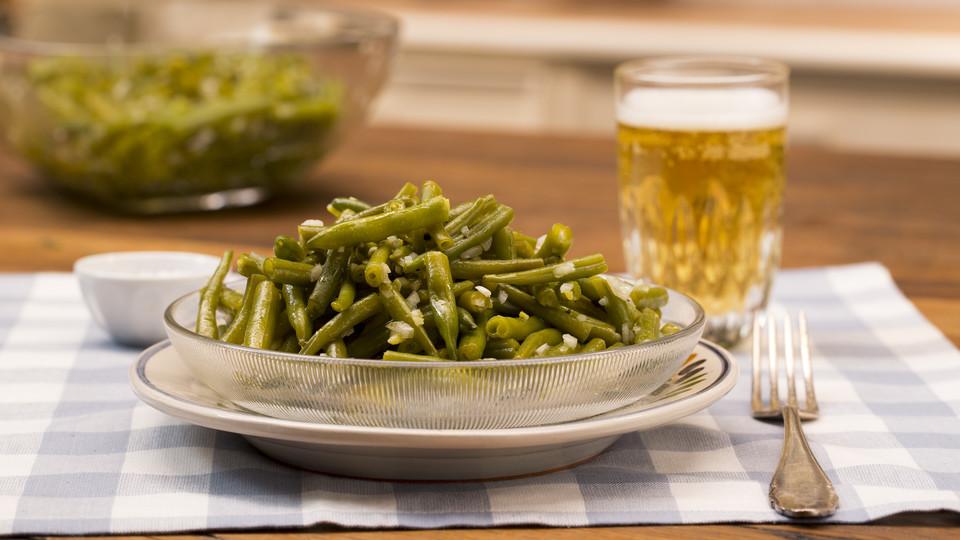 Bohnensalat haltbarmachen