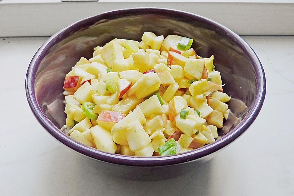 Curry apfel salat Rezepte   Chefkoch.de