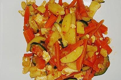 Asiatische Kartoffelpfanne 0