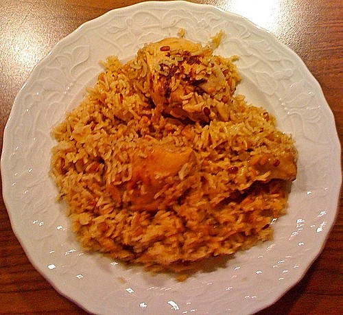Indisches Chicken Biryani 2