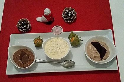 Weiße Mousse au chocolat 2