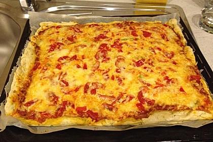 Pizzateig mit italienischen Kräutern