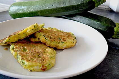 Zucchini - Reibekuchen 3