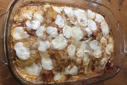 Auberginen Lasagne 1