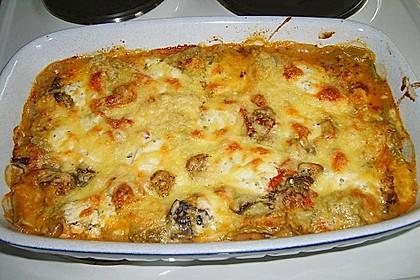 Auberginen Lasagne 4