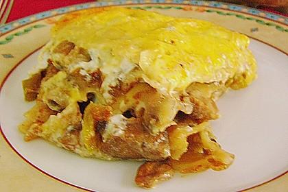 Auberginen Lasagne 6