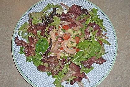 Avocado - Salat mit Krebsfleisch