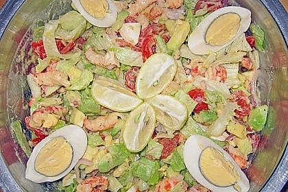 Avocado - Salat mit Krebsfleisch 1