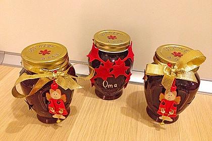 Weihnachtliche Sauerkirsch - Lebkuchen - Marmelade