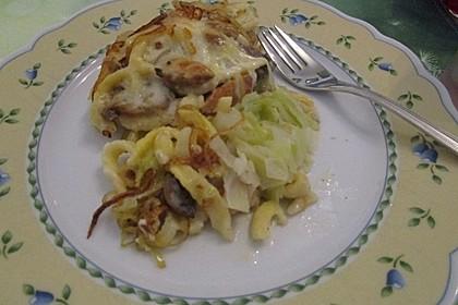 Zauberhafter Spätzle-Spitzkohl-Champignon-Auflauf 8