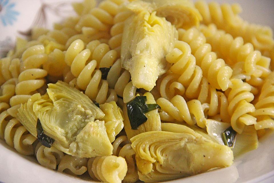 pasta mit artischocken rezept mit bild von 3sternchen. Black Bedroom Furniture Sets. Home Design Ideas