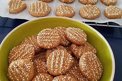 Erdnuss - Sesam - Plätzchen 5