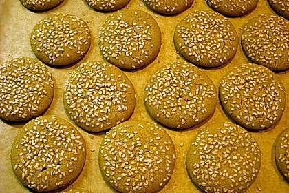 Erdnuss - Sesam - Plätzchen 7