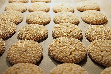 Erdnuss - Sesam - Plätzchen