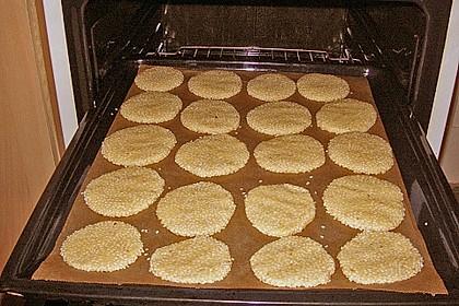 Erdnuss - Sesam - Plätzchen 12