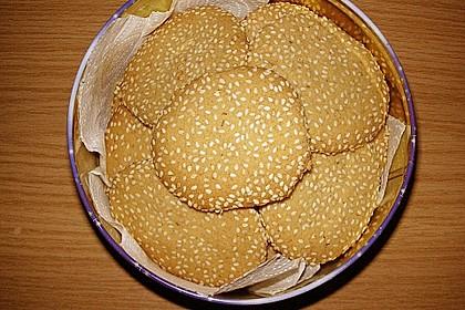 Erdnuss - Sesam - Plätzchen 4