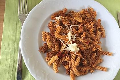 Vegetarische Bolognese 6