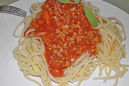 Vegetarische Bolognese 38