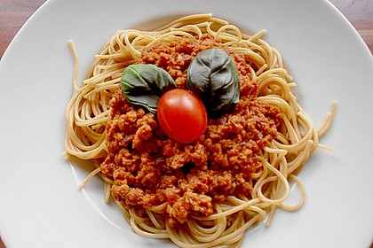 Vegetarische Bolognese 9
