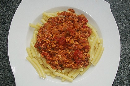 Vegetarische Bolognese 10