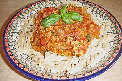 Vegetarische Bolognese 53