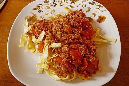 Vegetarische Bolognese 22