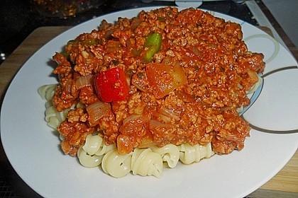 Vegetarische Bolognese 14